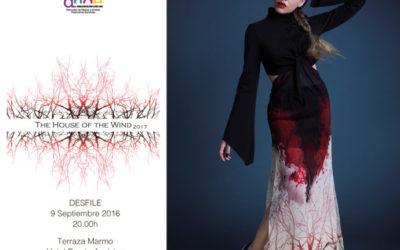 Violeta Arellano en la VIII Edición de Premios Nacionales a la Moda para Nuevos Diseñadores
