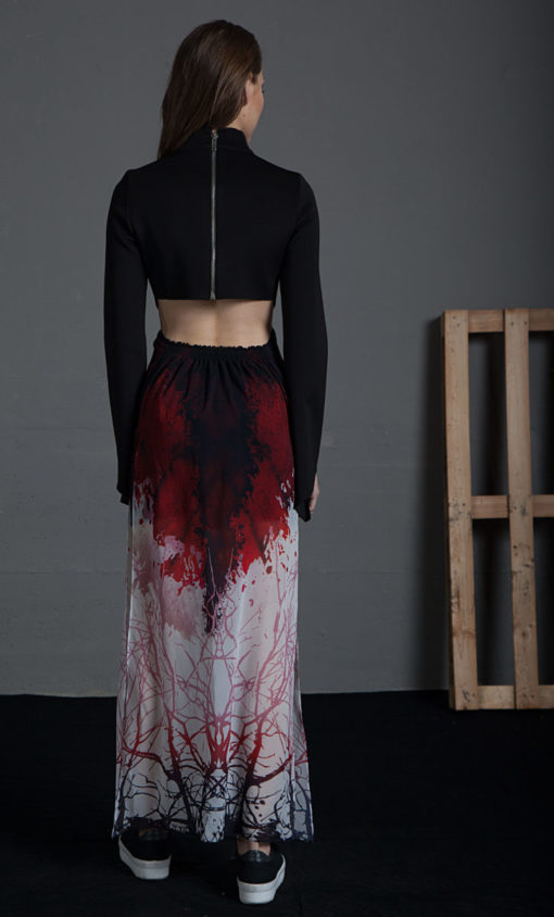 Vestido estampado ilitia