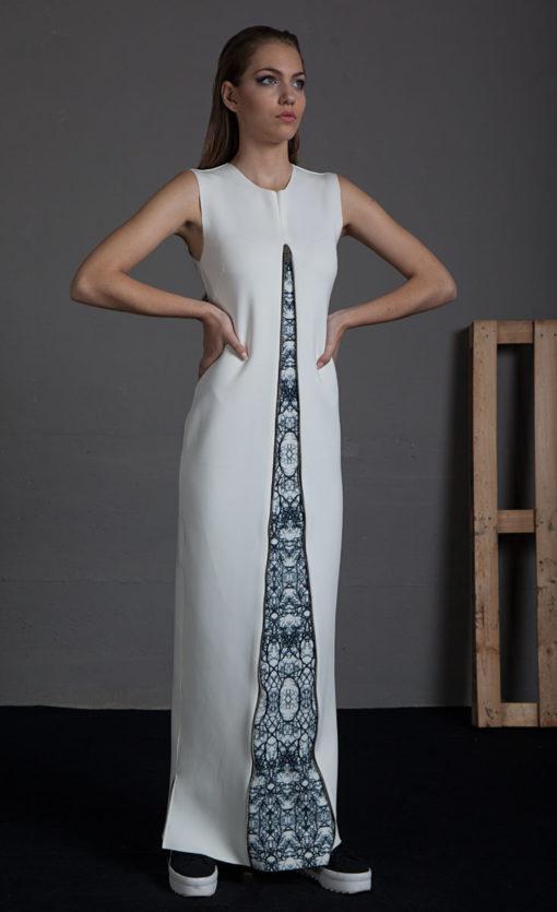 Vestido cremallera